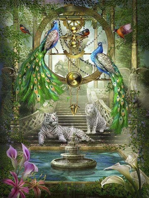 mystic garden holographic  pieces lafayette puzzle