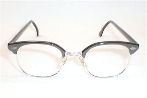 mens vintage 12k gold craft clubman eyeglasses