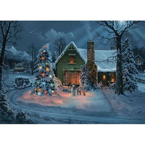 national railroad museum winter train scene christmas card colorful pictures christmas art
