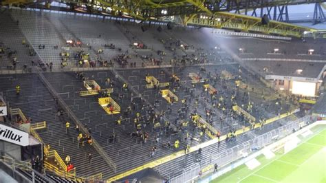 signal iduna park away section foto de signal iduna park dortmund bayern munich away