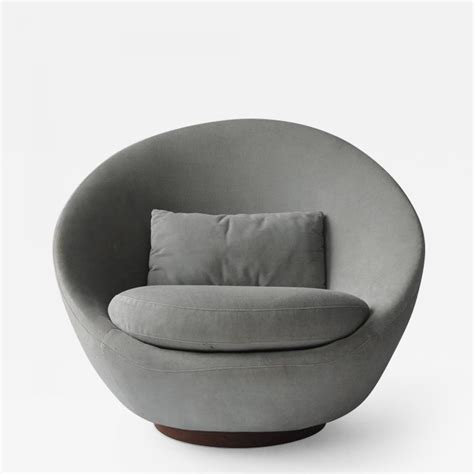 Milo Baughman Lounge Chairs by Milo Baughman Milo Baughman Swivel Lounge Chair