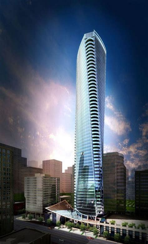 Tower House Plans by Trump Tower Vancouver Amp Hotel In Vancouver S Coal Harbour
