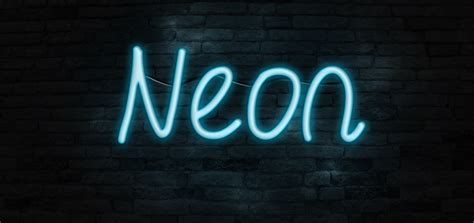 font design in photoshop tutorials create a realistic neon text effect in photoshop