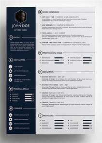 best templates for resumes 25 best creative cv template ideas on