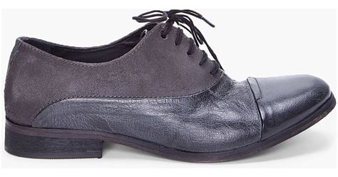 diesel chrom dress shoes in black for lyst