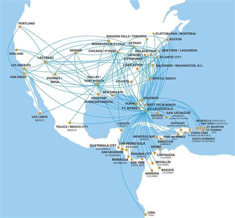 Westjet Route Map by Spirit Airlines Starts Detroit Denver And Houston Orlando