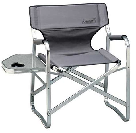 coleman folding chair with side table coleman deck chair with side table gadgetgrid