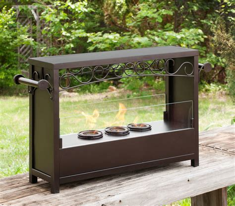 Gel Fireplace Outdoor by 33 25 Quot Martin Saratoga Portable Indoor Outdoor Gel