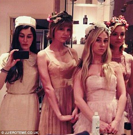 taylor swift dressed to the nines taylor swift and her girlfriends play dress ups in honour
