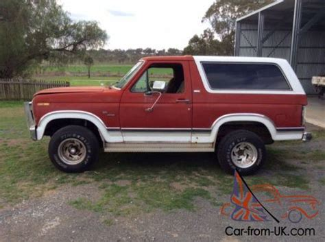 82 ford bronco 4wd holden chevy dodge plymouth cadillac