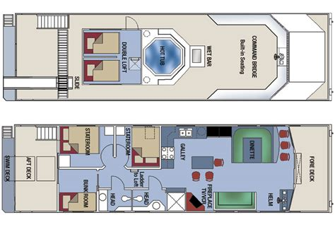 Jonny Salme Catamaran Sailboat Floor Plans Houseboat Blueprints