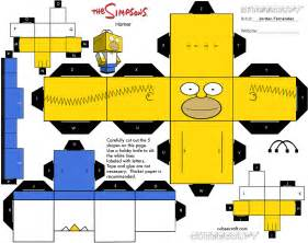 40 Page Essay On The Simpsons by Cubeecraft De Los Simpsons Taringa