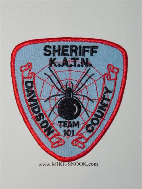 Davidson County Sheriff S Office by Mike Snook S Patch Collection State Of Carolina