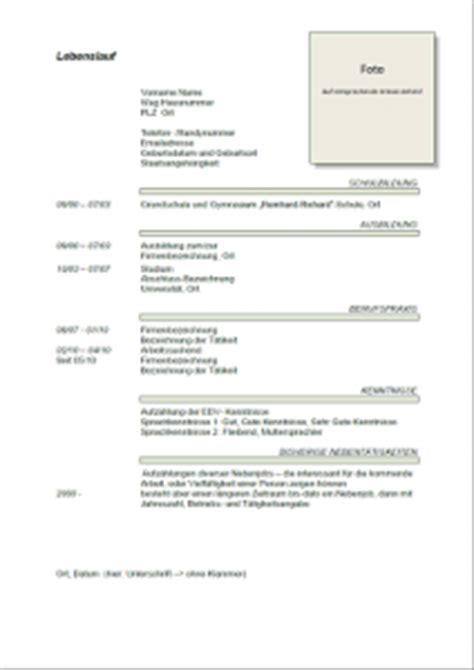 Bewerbungsschreiben Für Eine Neue Arbeitsstelle Muster Lebenslauf