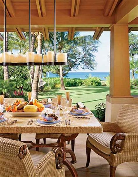 Tropical Decor Home by Hawaiian Decor Aloha Style Tropical Home Decorating Ideas