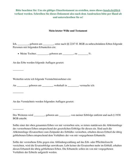 Entwerfen Sie Eine Kã Che Kostenlos by Einzeltestament Muster Vorlage Word Und Pdf