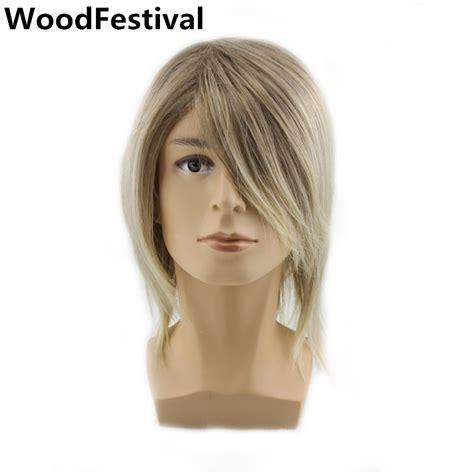 popular man blonde wig buy cheap man blonde wig lots from popular male blonde wig buy cheap male blonde wig lots