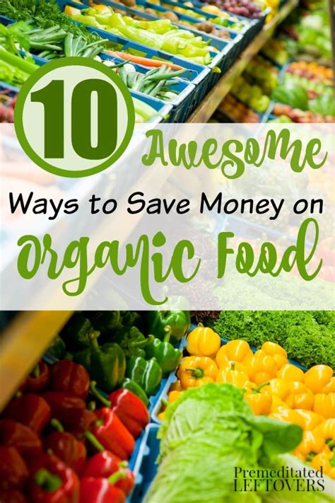 tips  eating organic   budget  cutting
