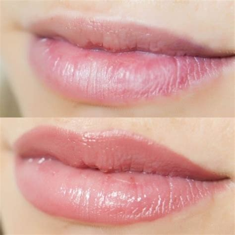 lip tattoo lipstick semi permanent lip treatment before and after since i can