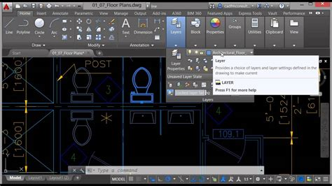 how to use autocad 2015 layers tutorials autocad 2015 layers in autocad 2016 youtube