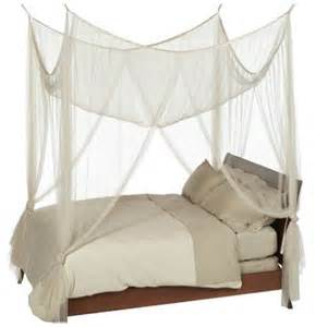 Bed Canopy Casablanca Four Point Bed Canopy Ivory Color