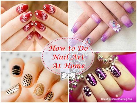How To Do Nail by How To Do Nail At Home