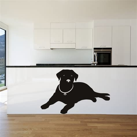 silhouette wall stickers labrador nose silhouette dogs wall stickers wall decal transfers ebay