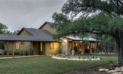 texas hill country style homes texas hill country man space traditional exterior