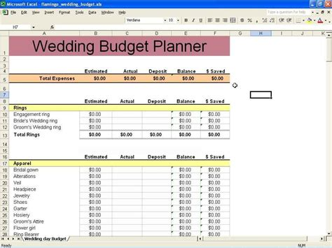 8 wedding planner excel template exceltemplates exceltemplates