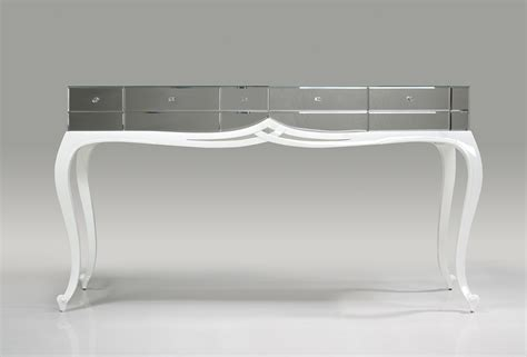 mirror console tortoise white gloss and mirror console