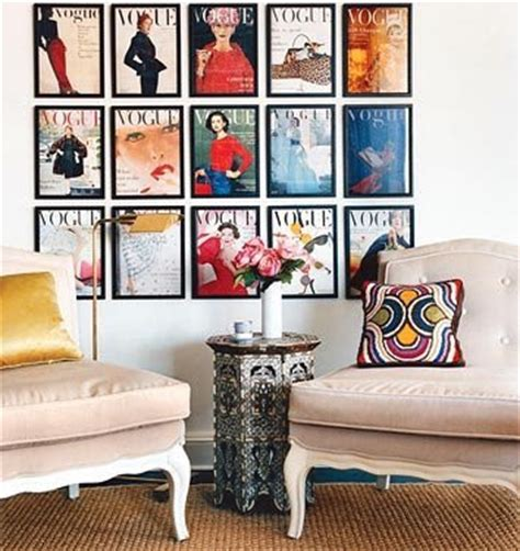 magazine room decor pillows smoth vintage fashion wall art