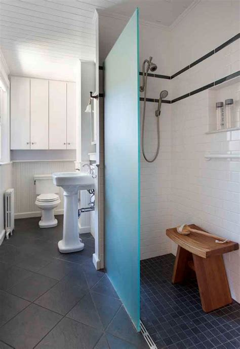 Bathroom Showers Massachusetts Boston Home Renovation And Remodeling Universal Design