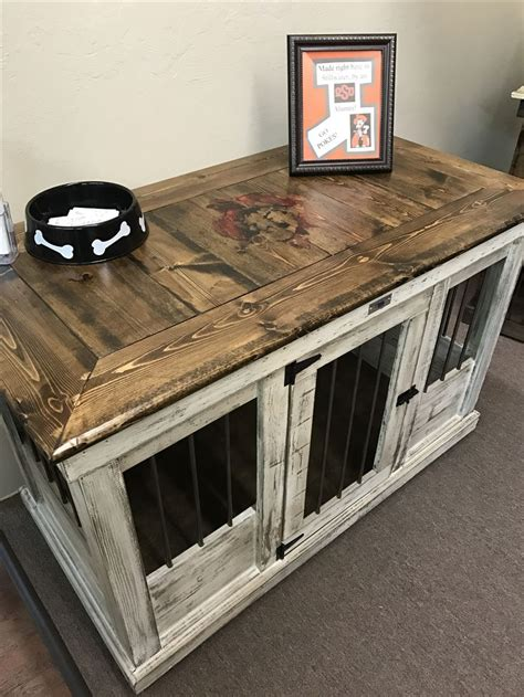 pet crate coffee table 142 best farmhouse indoor kennels images on