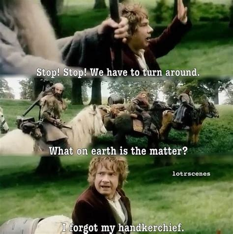 The Hobbit An Unexpected Journey Quotes Bilbo