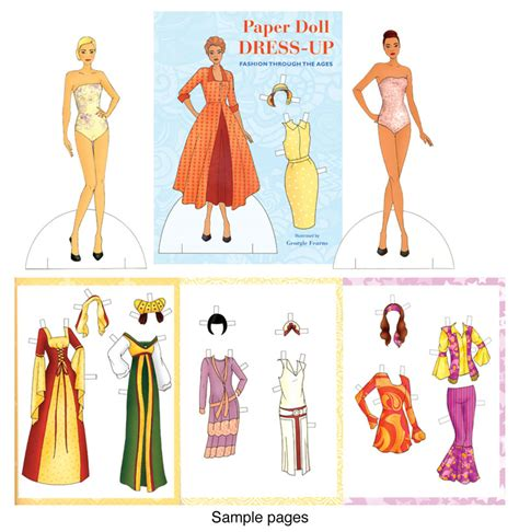 Fashion Through The Ages Essay by Dress Up Fashion Through The Ages From Ancient To The 1980s Paper Dolls Of Classic