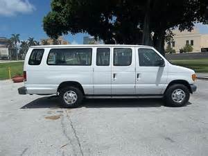 2003 Ford E350 Purchase Used 2003 Ford E350 Extended 15 Passenger