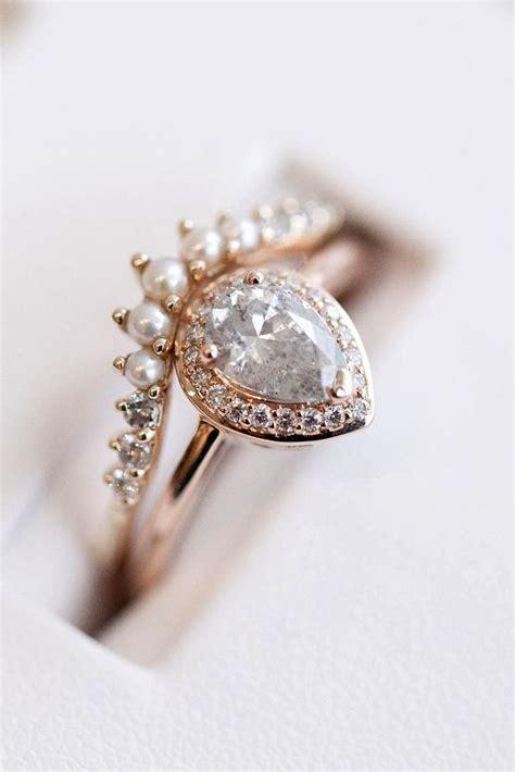pear engagement rings ideas  pinterest pear