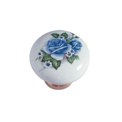 pomello ceramica pomello in ceramica 248 31 con fiore