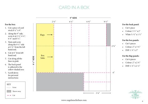 how to make a box from a card card in a box amac
