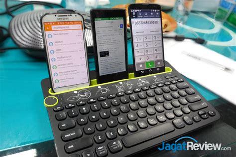 Keyboard Piano Untuk Komputer logitech keyboard k480 satu keyboard untuk smartphone pc dan tablet jagat review