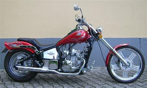 Wmi Motorrad Chopper Dragtail 125 wmi dragtail 125 mit silvertail 125er forum de motorrad