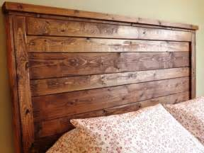 Distressed Wood Headboard Rustic Distressed Wood Headboard Made To Order Custom Built
