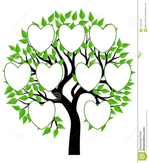 Family Tree Concept Illustration Vector Stock Photo Illustration Of Simple Background 122551722 Family Tree Concept Stock Vector