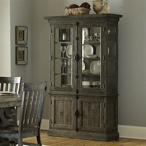 Dining Room China Hutch magnussen bellamy wood china cabinet in pine d2491 01t