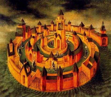 Interior Castle Teresa Of Avila by Surrealism And Visionary Remedios Varo