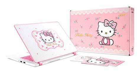 Laptop Acer Pink Hello acer has a limited edition hello laptop that is