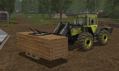 wooden pallet gripper v 1 0 ls17 farming simulator 17
