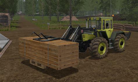 Wooden Ls by Wooden Pallet Gripper V 1 0 Ls17 Farming Simulator 17