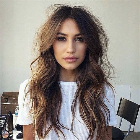soft curl shaggy hairstyles 40 long hairstyles and haircuts for fine hair with an