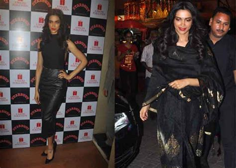 Work And Pray Black Eybv deepika padukone wears black to work and pray ndtv